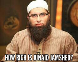 How rich is Junaid jamshed