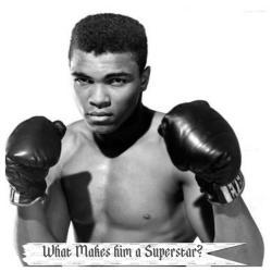 Muhammad Ali superstar