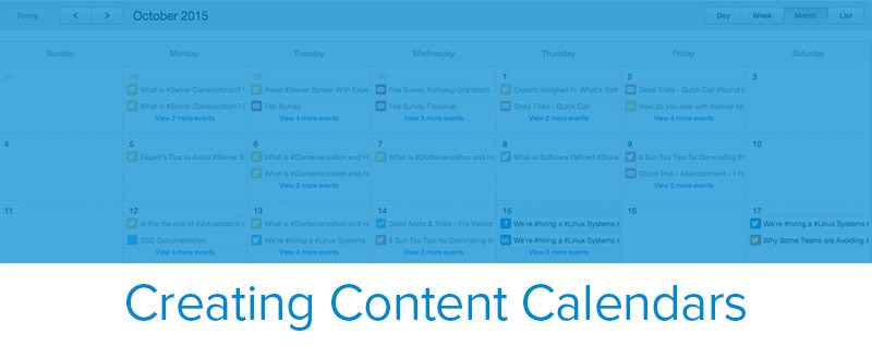 Content Calendar Template Tool Insight From 10 Marketing Experts
