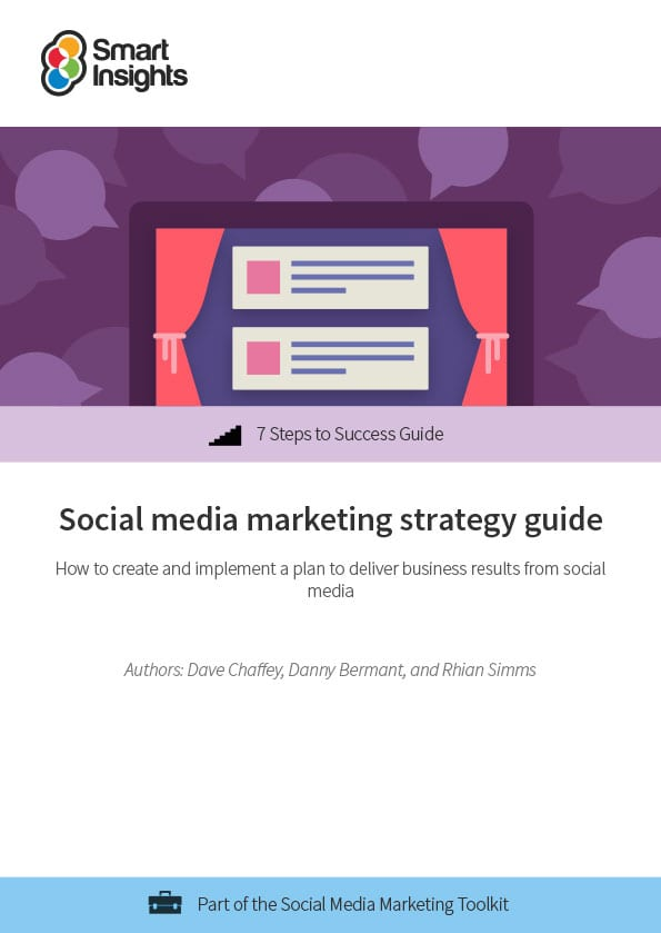 Social media marketing strategy guide Smart Insights