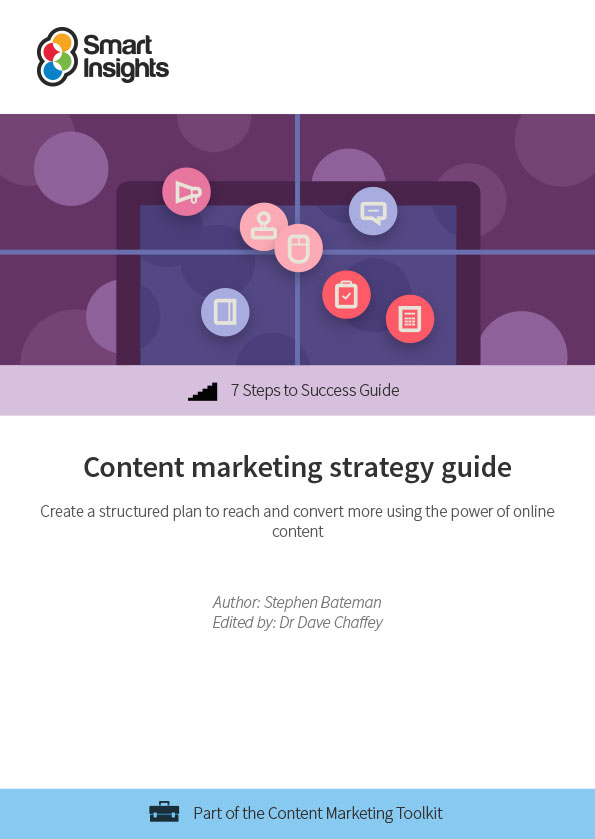 Content marketing strategy guide Smart Insights