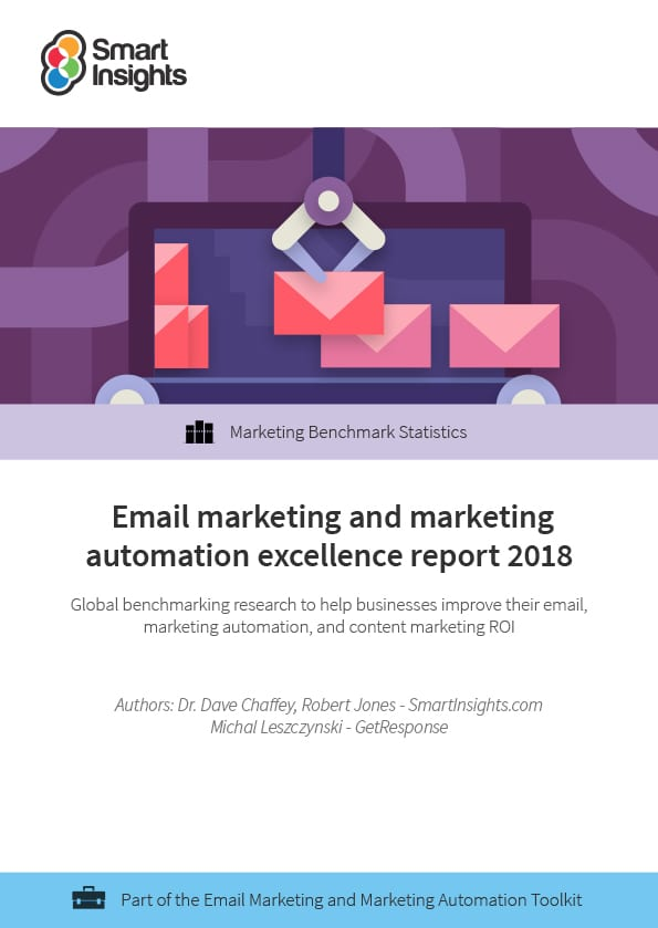 Email Marketing and Marketing Automation Excellence report 2018