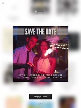 Paperless Post - invitations, eCards, RSVP tracking on iPad Smart - rsvp e cards