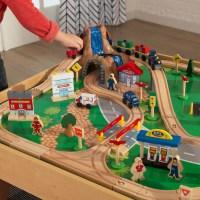 Kidkraft Waterfall Mountain Train Table and Set | Smart ...