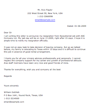 """Response To Complaint From Customer Re Poor Product Search Results For """"how To Write A Resignation Letter For"""