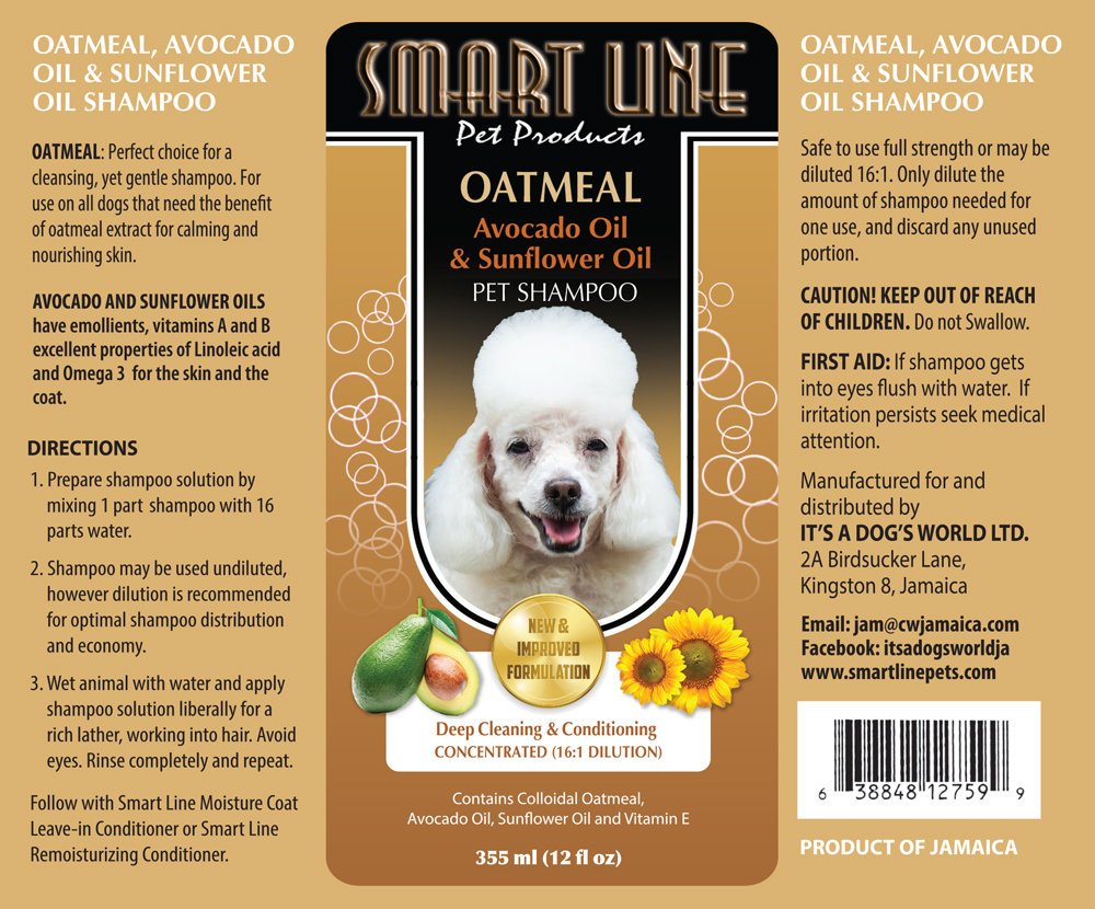 Intriguing Line Oatmeal Wheat Germ Oil Dog Shampoo Andmoisturizes Your This Concentrated Formulation Is Safe To Usefull Strength Oatmeal Wheat Germ Oil Shampoo Line Pet Products bark post Is Avocado Safe For Dogs