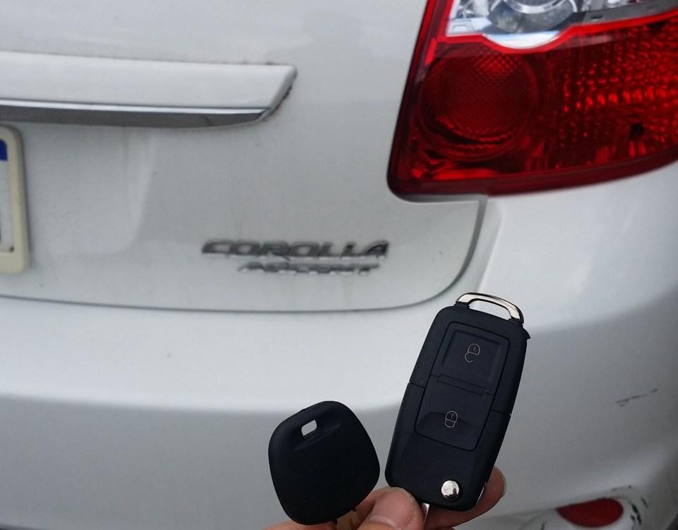 Toyota Corolla 2009 Remote key
