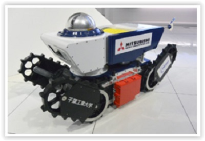 Joint development of Japan's first anti-explosive remotely operated mobile robot