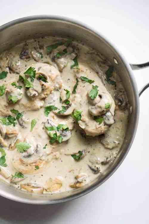 Medium Of Cream Of Mushroom Chicken