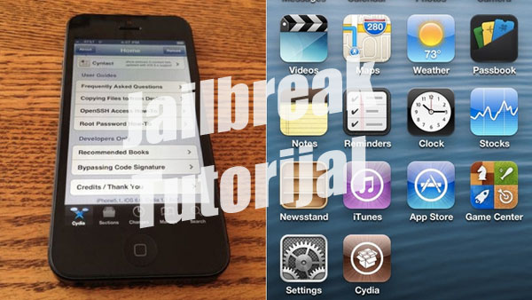 Jailbreak iOS 6-Tutorijal