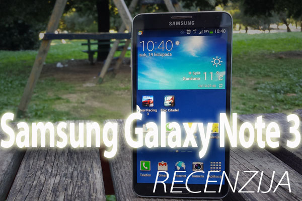 Recenzija: Samsung Galaxy Note 3 (Video)