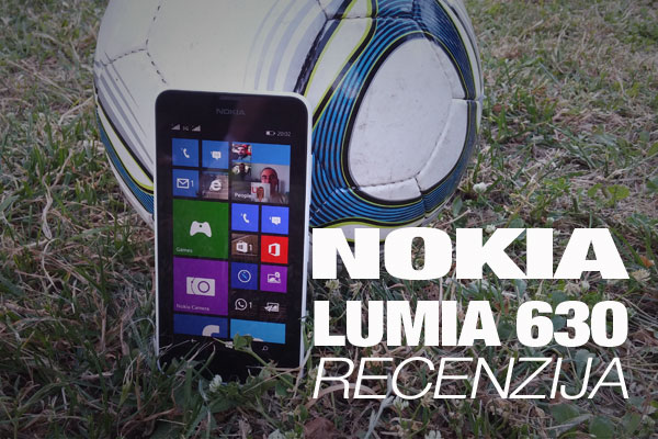 Recenzija: Nokia Lumia 630 DS