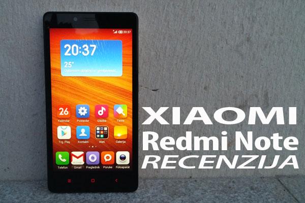 Recenzija: Xiaomi Redmi Note