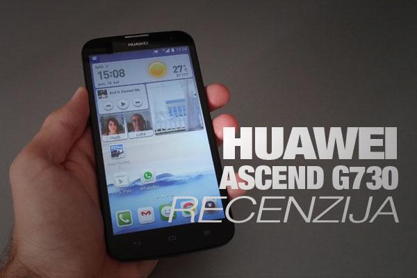 Recenzija: Huawei Ascend G730