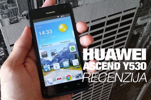 Recenzija: Huawei Ascend Y530
