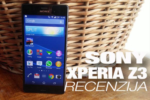 Recenzija: Sony Xperia Z3