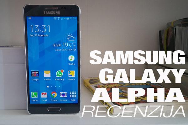 Recenzija: Samsung Galaxy ALPHA