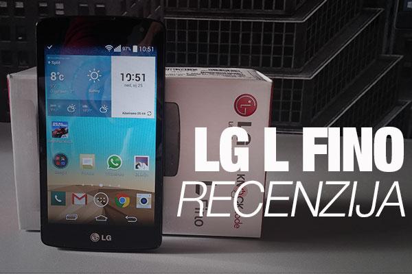 Recenzija: LG L Fino