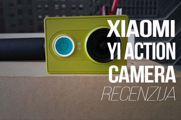Recenzija: Yi Action Camera