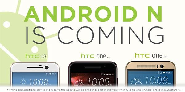 Android Nougat za HTC 10 i ekipu u 4. tromjesečju