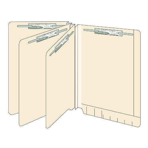 14-Point Maxi-Classifile End-Tab File Folders