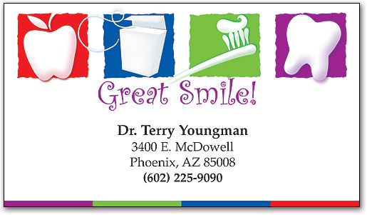 Great Smile Dental ReStix Business Card