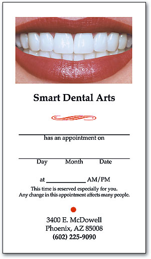 Business Card Top Designs SmartPractice Dental