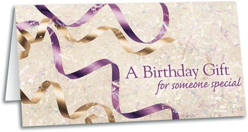 Birthday Streamers Gift Certificate SmartPractice Chiropractic