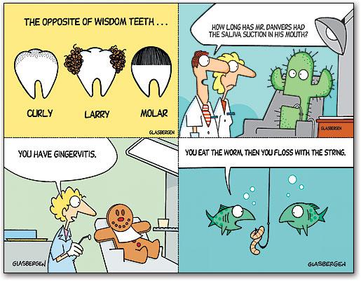 Glasbergen Recall Cards SmartPractice Dental