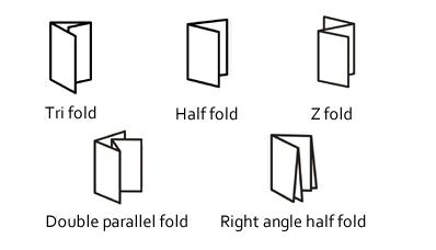 Brochures Printing Folding Types Help