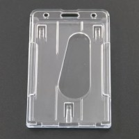 ID Card Package Clear Business Card Holder , Vertical ...