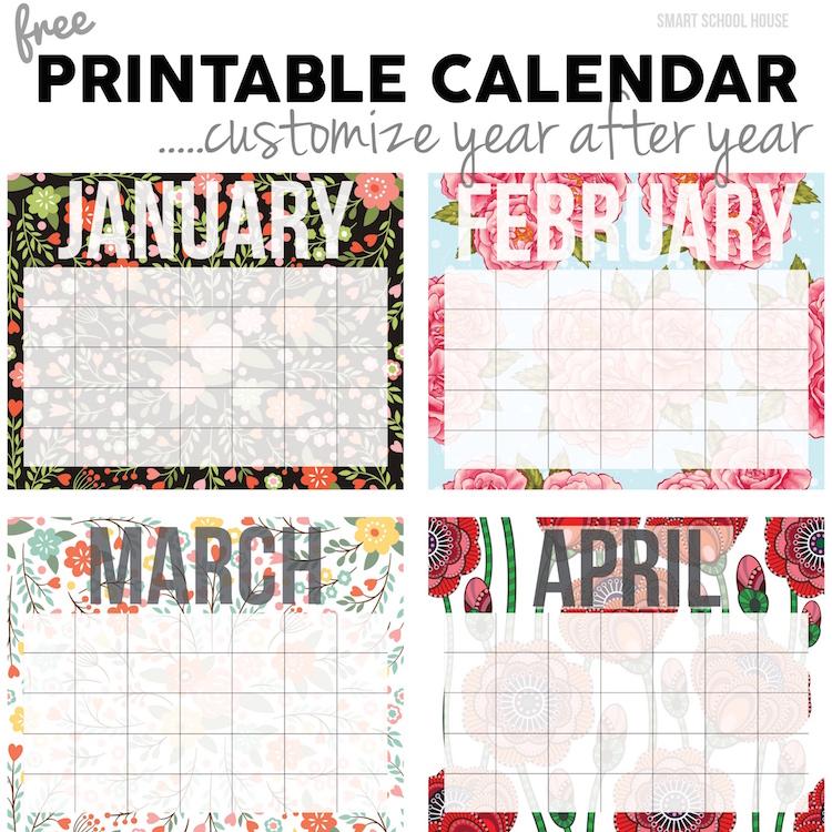 Free Calendar - free printable calendar