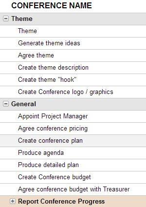 conference budget template excel - Pinarkubkireklamowe