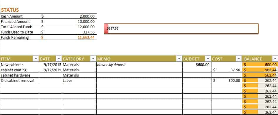 Free Budget Templates in Excel for Any Use - home budget worksheet free
