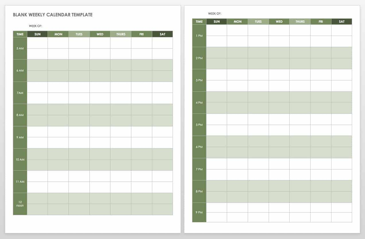 appointment sheet template word