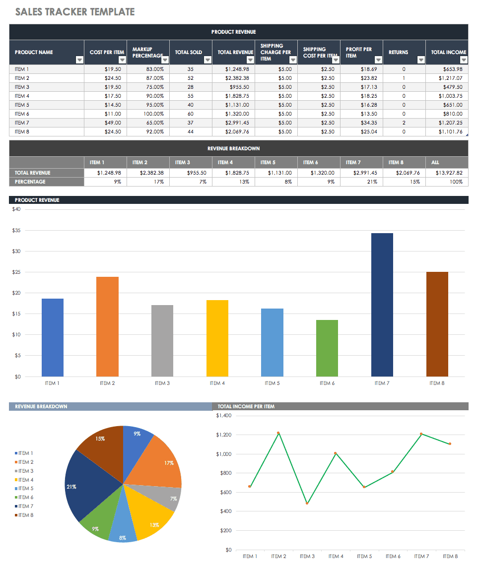 sales leads template