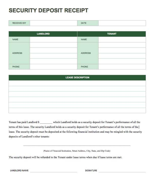 13 Free Business Receipt Templates Smartsheet - business receipts templates