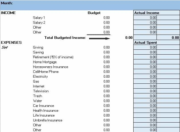 Free Budget Templates in Excel for Any Use - project budget spreadsheet