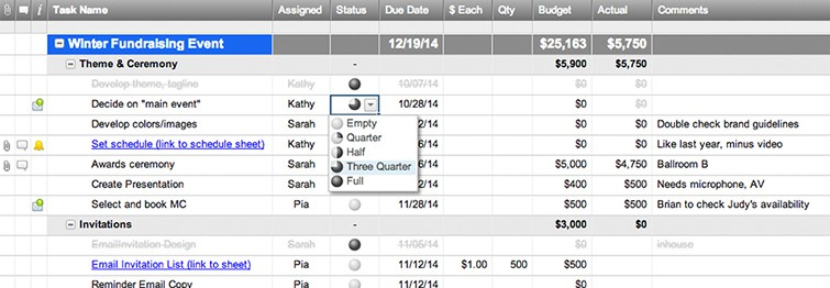 Event Planning Template with Budget Smartsheet - budget plan