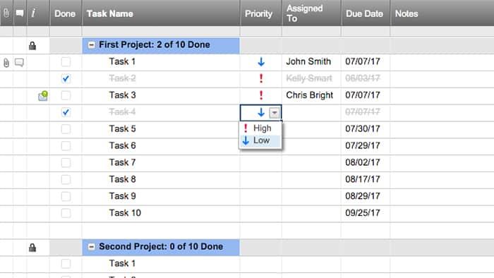 Task Management Software Smartsheet