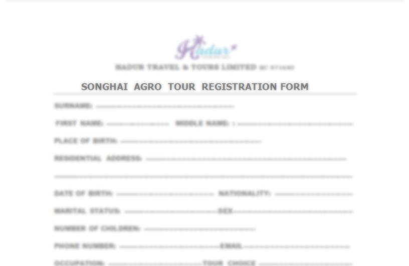 Download Forms \u2013 Hadur Travel Tour Updates - registration forms