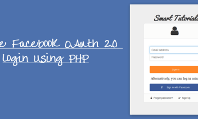 Facebook OAuth 2.0 login Using PHP