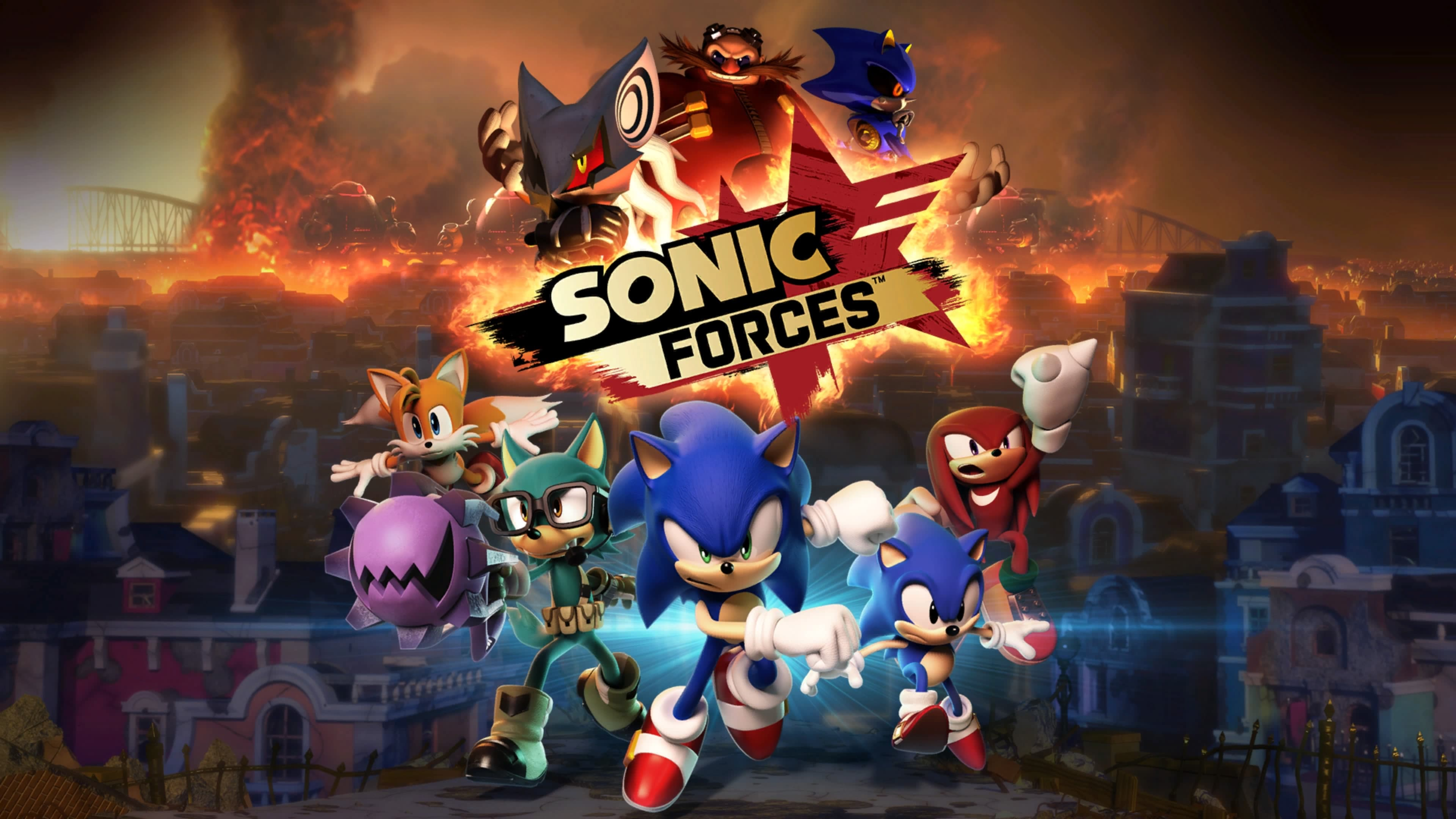 Sonic Wallpaper Hd 3d Recensione Sonic Forces Ps4 Xbox One Pc Nintendo