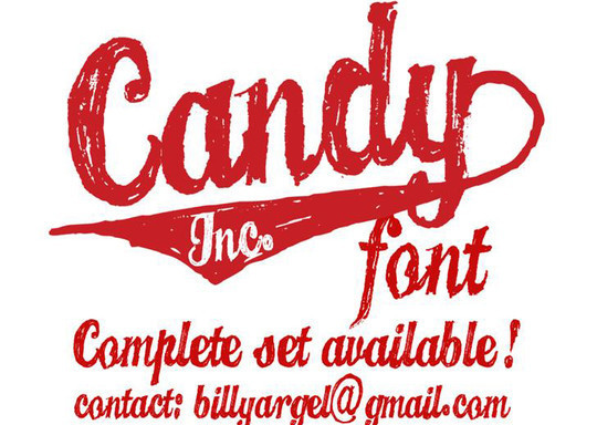 Candy Inc. Font Download