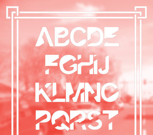 minimalisticfonts5 15 Free Minimalistic Designs Fonts