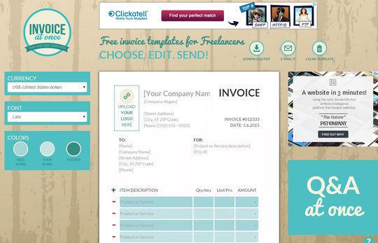 12 Best Free Invoice Generators SmashingApps