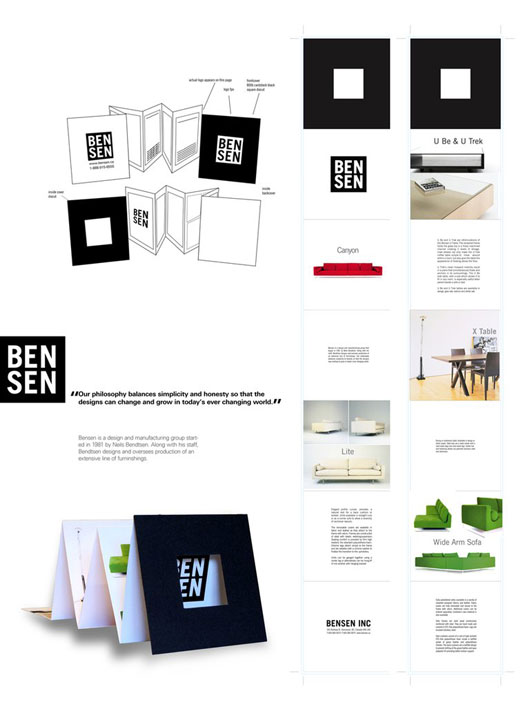 40 Ways to Create Brochure Designs with a Reduction of Effort - accordion fold brochure