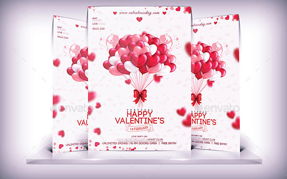 Valentine\u0027s Day Flyer Templates Designs 2015