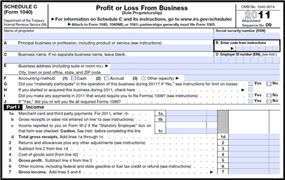 Smashwords u2013 1040 Exam Prep Module X Small Business Income and - business profit and loss statement form