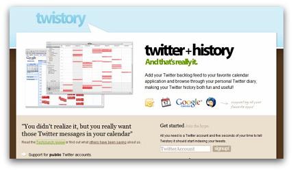 Twistory twitter tool
